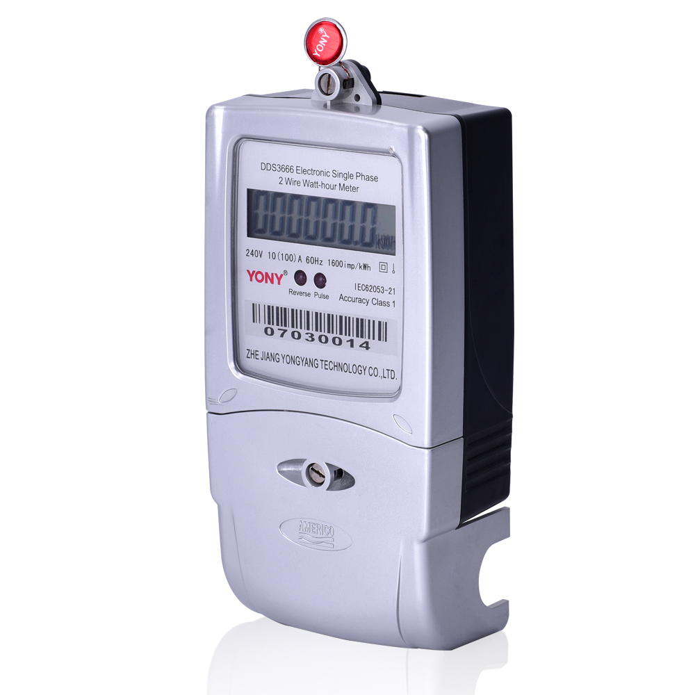 Single Phase Liquid Crystal Meter Zhejiang Yong Yang Technology Co The Wiring Circuit Diagram With Singlephase Watthour Measuring