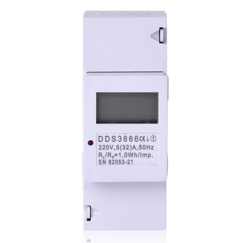 Single phase liquid crystal guide meter 2 p