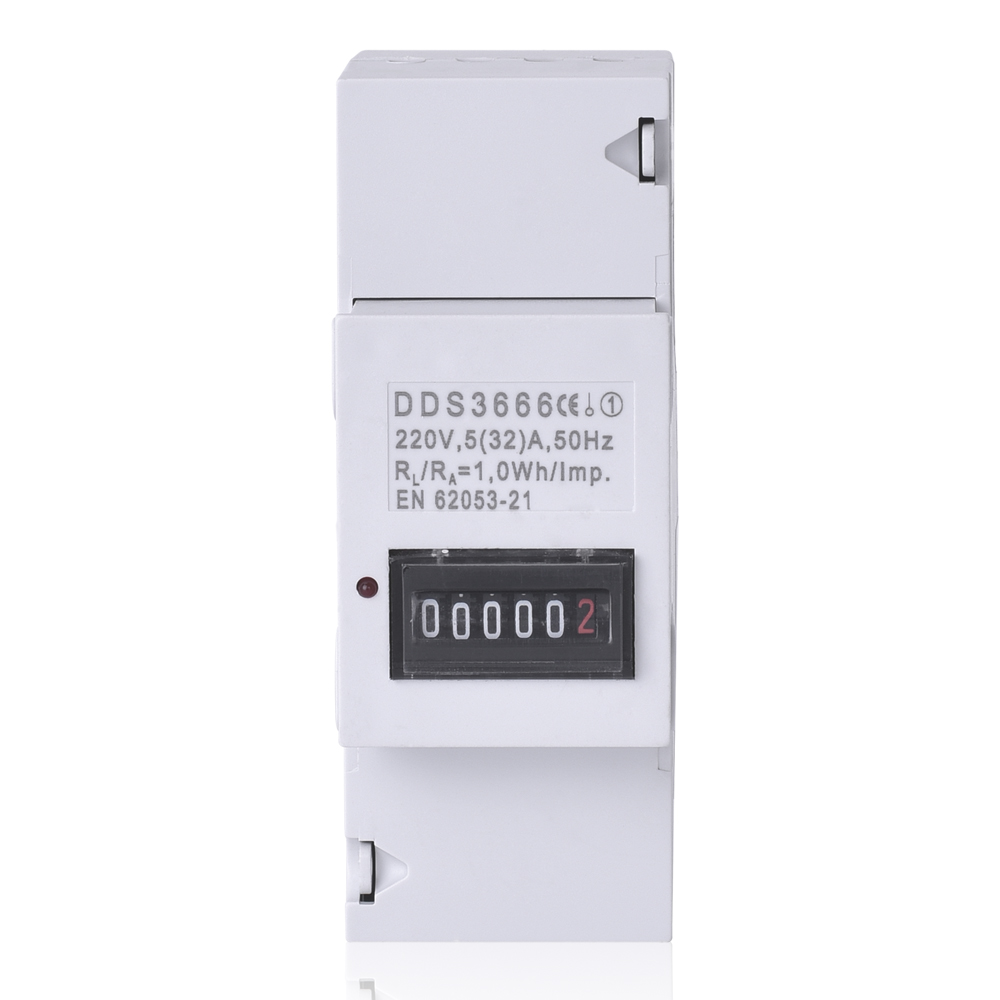 Single-phase widely guide meter 2P